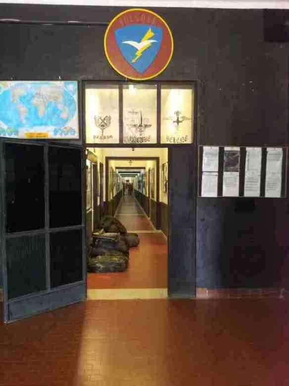 ingresso camerata nuova 4°cp.