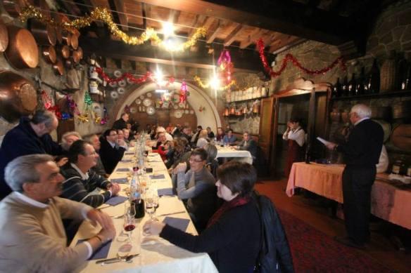 Falchi Pranzo a Castel dell'Arquato 15.12.2013